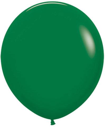 Шар (30''/76 см) Темно-зеленый (032), пастель