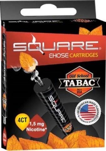 Картриджи Square - Табак с никотином