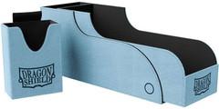 Dragon Shield - Сине-чёрная коробочка Nest+ с отделением для кубиков (300 карт)