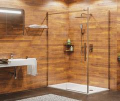 Душевой уголок WasserKRAFT, Alme 15R06, 120х80, с универсальной раздвижной дверью