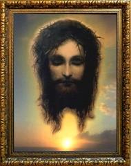 Иисус Христос моргающий