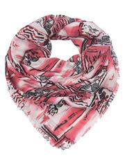 FC815-1-6 платок женский, красный