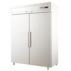 Шкаф холодильный POLAIR CM114-S ( 1402х895х2028, 0,55кВт, 220В,глухие двери),   0 ...+6 °C,  1400л.
