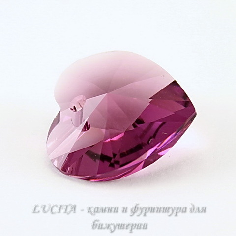 6202/6228 Подвеска Сваровски Сердечко Amethyst (18х17,5 мм) ()