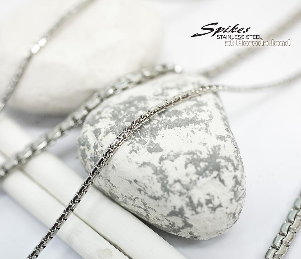 SSNH-0311-4 Красивая мужская цепочка «Spikes» из ювелирной стали фото 04