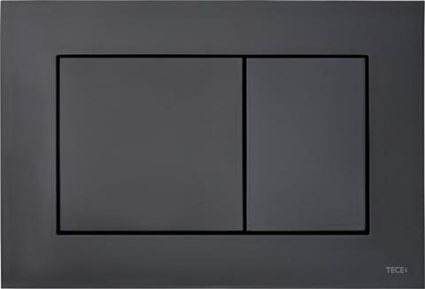 Панель смыва пластиковая TECEnow, цвет черный глянец 9240403