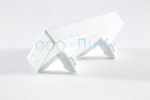 Латодержатель накладной 63 мм белый