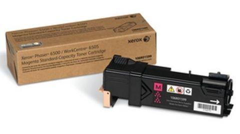 Картридж Xerox 106R01599 для Xerox Phaser 6500, WorkCentre 6505 (пурпурный стандартной емкости, 1000 стр.)