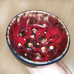 Чаша для бритья Застывшая лава