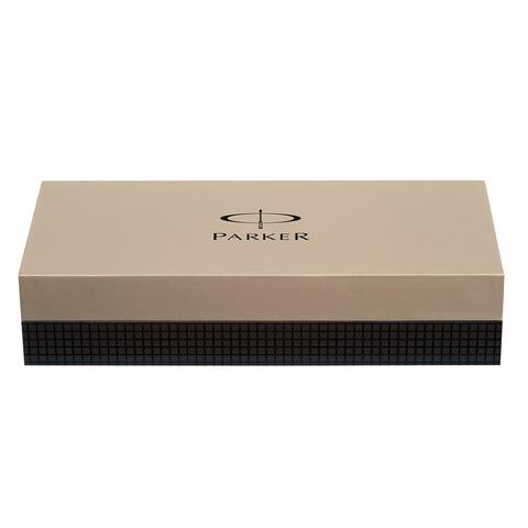 Parker Sonnet - Essential Stainless Steel CT Slim, шариковая ручка, M, BL