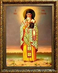 Марк Эфесский святитель. Икона на холсте.