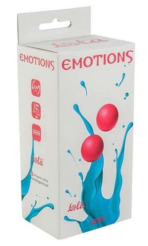 Вагинальные шарики без сцепки Emotions Lexy Small pink (2,4 см; 68 гр)