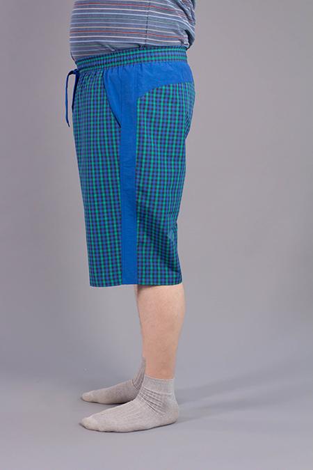 Лекала мужских шорт для производства одежды