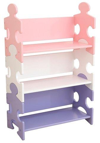 KidKraft Система хранения Пазл пастель Puzzle Pastel 14415_KE