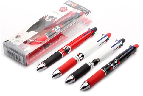 Многофункциональные ручки Pilot Dr. Grip 4+1 Kumamoto Project