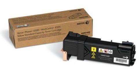 Картридж Xerox 106R01600 для Xerox Phaser 6500, WorkCentre 6505 (желтый стандартной емкости, 1000 стр.)