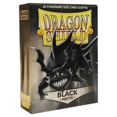 Dragon Shield - Чёрные матовые протекторы 60 штук