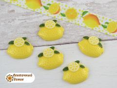 Пластиковый декор Лимон с долькой