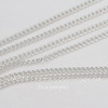 Цепь (цвет - серебро) 3х2 мм, примерно 2 м