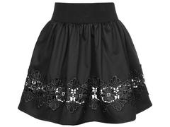 2232-2 юбка детская, черная