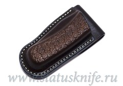 Чехол кожаный коричневый Brown Buck 110
