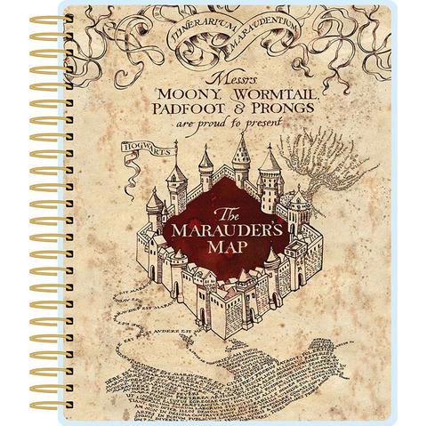 Ежедневник с украшениями - Paper House Life Organized 12-Month Undated Planner -Harry Potter Marauder's Map