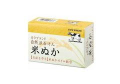 Натуральное мыло с рисовыми отрубями, 100г