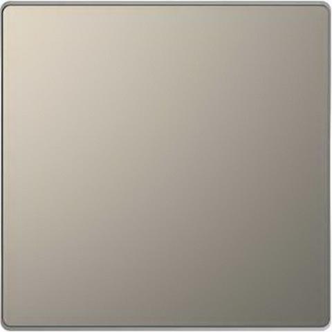 Выключатель одноклавишный. Цвет Никель. Merten D-Life System Design. MTN3111-0000+MTN3300-6050