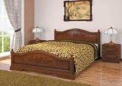 Кровать из массива Карина (1200) орех