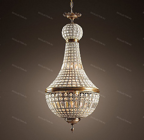 replica  19TH C. FRENCH EMPIRE CRYSTAL Restoration Hardware 68060238