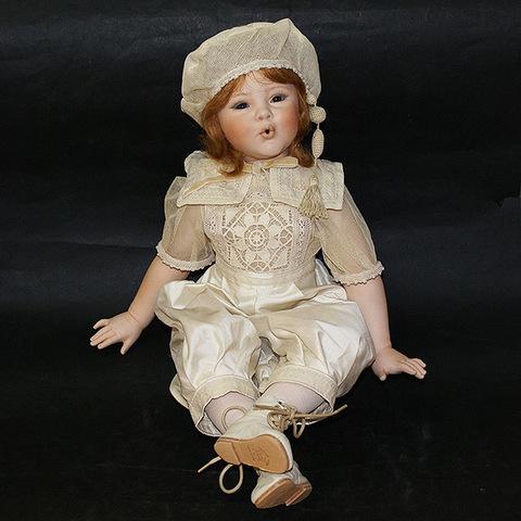 Кукла фарфоровая коллекционная Marigio Andrea