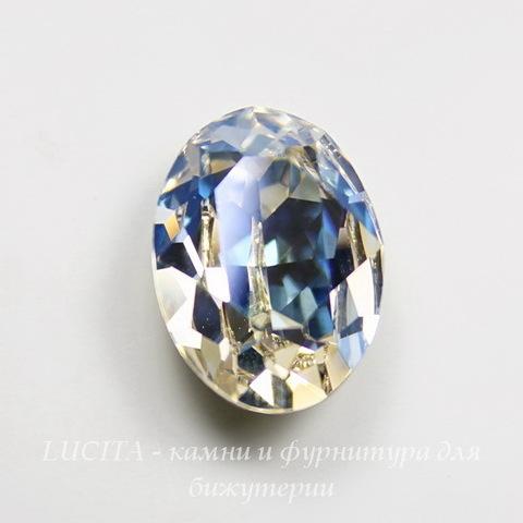 4120 Ювелирные стразы Сваровски Crystal Moonlight  (18х13 мм)