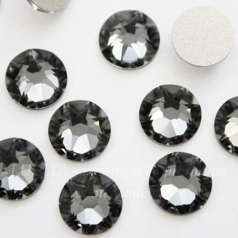 2088 Стразы Сваровски холодной фиксации Crystal Silver Night ss 34 (7,07-7,27 мм)