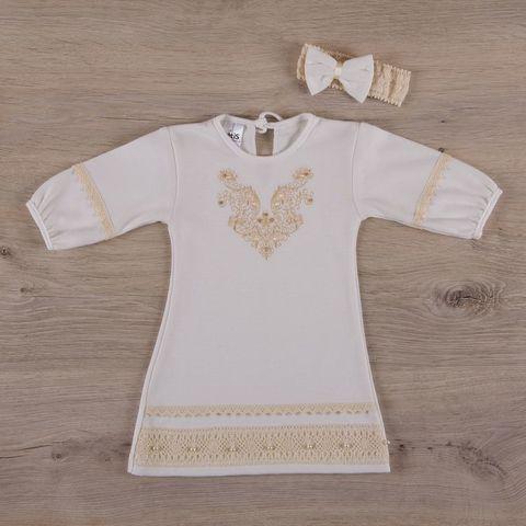 Рубашка для крещения девочке Чарівність