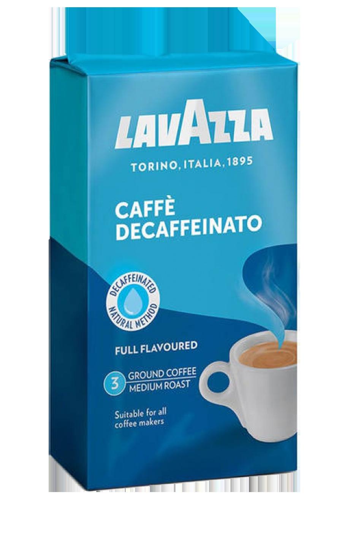 Кофе молотый Lavazza Caffe Decaffeinato 250 г вакуумная упаковка