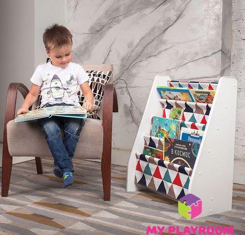 Детская полочка для книг в духе Монтессори 6