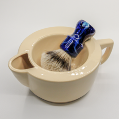 Скаттл - чаша для бритья Squadro warm athmos Кремовый
