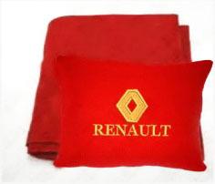 Плед в чехле с логотипом Renault