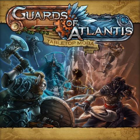 Guards of Atlantis: Tabletop MOBA