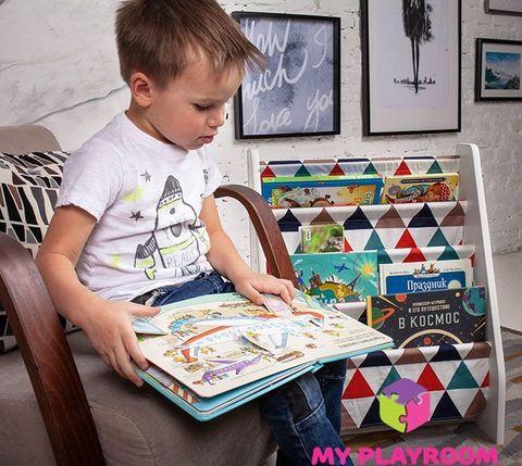 Детская полочка для книг в духе Монтессори 8