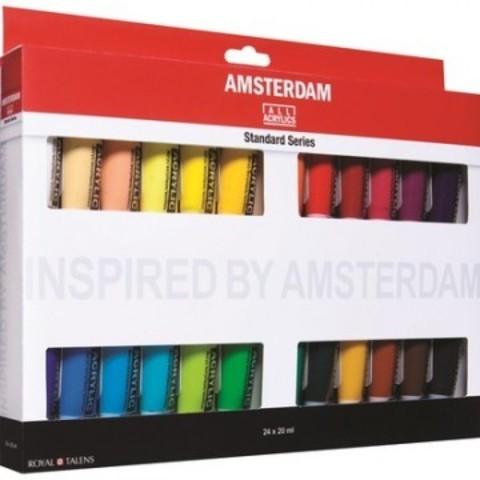 Краски акрил Amsterdam 24 цвх20мл 17820424