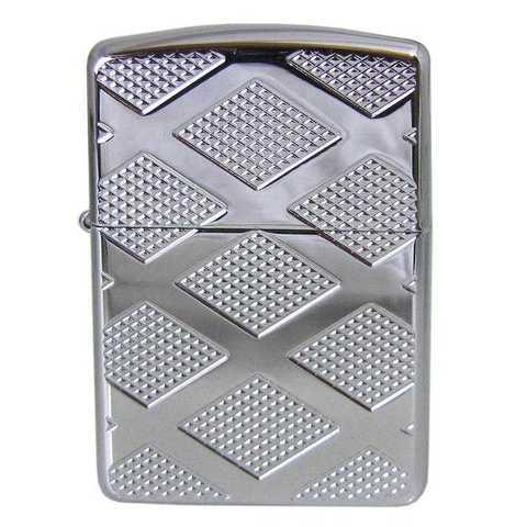 Zippo 28637 Armor Carved Diamond