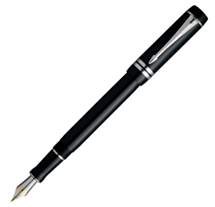 Parker Duofold F89 Black PT International