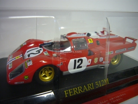 Ferrari 512M #12 1971 red 1:43 Eaglemoss Ferrari Collection #59