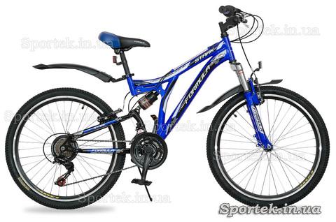 Горный универсальный подростковый велосипед Formula Stark 2015 - сине-черный