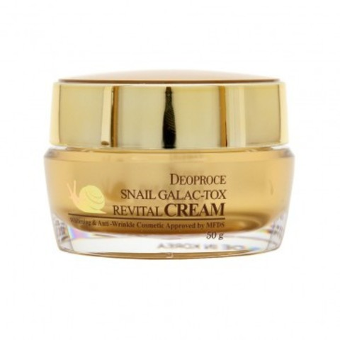 DEOPROCE SNAIL GALAC-TOX REVITAL CREAM