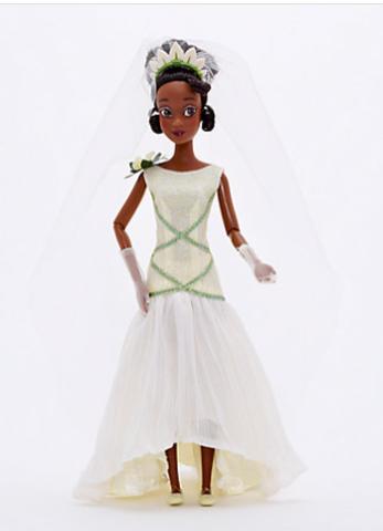 Кукла Дисней принцесса Тиана (Tiana) в свадебном платье - Принцесса и Лягушка, Disney