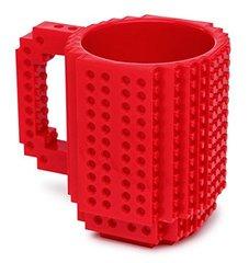 OliaDesign 1 X Build-On Brick Mug Red 12 Oz Coffee Mug
