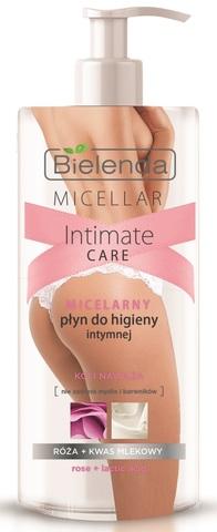 Мицеллярное средство для интимной гигиены, Роза + Молочная кислота, 300 мл
