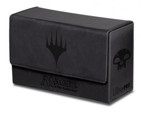 Dual Flip Box Black Mana for Magic (Matte Finish)
